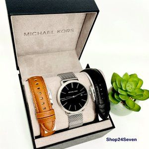 NWT MICHAEL KORS Blake Watch Giftset MK8736